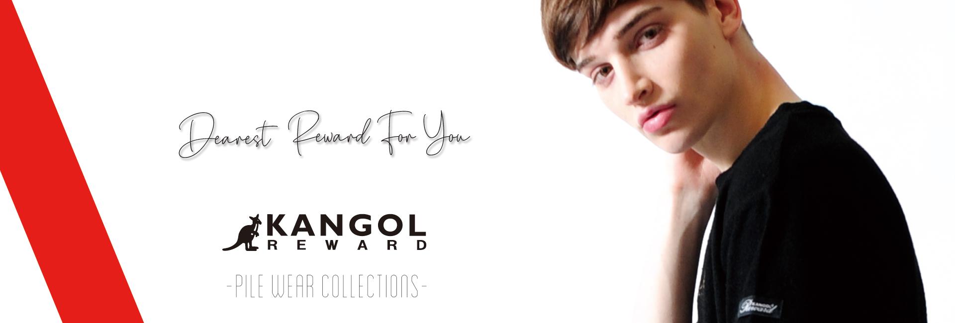 KANGOL REWARD メンズ パイルアイテム